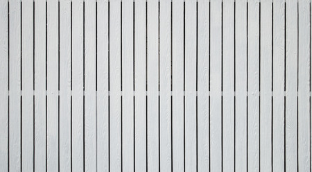 The strip of white fake wooden fence as background