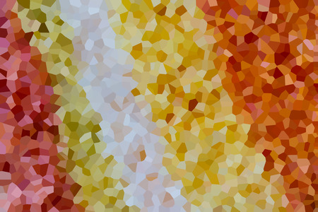 The colourful crystallise picture as background Stock Photo