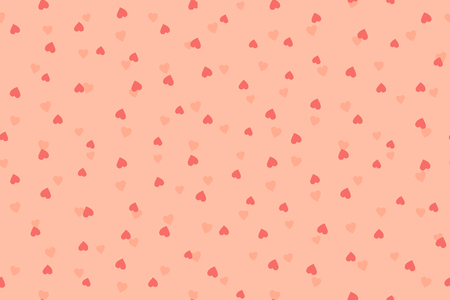 Happy Valentine Love Pink Seamless Background Pattern Vector