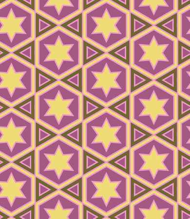 Seamless pattern in Islamic Ornamental pattern. Traditional Arabic seamless ornament. Elegant background for cards.