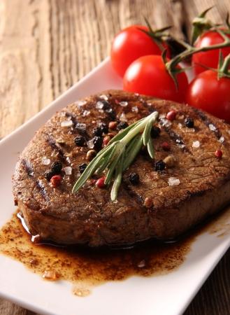 butcher shop: Grilled Beef Steak
