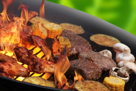 royalty free photo: Barbecue Stock Photo
