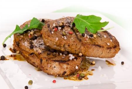 sirloin steak: Grilled Beef Steak