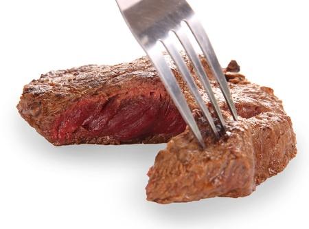 medium close up: Grilled Beef Steak