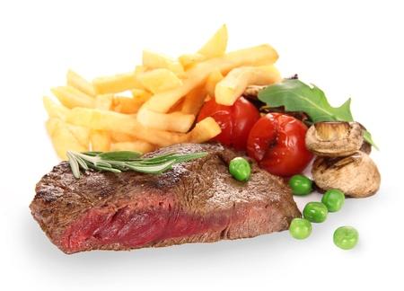 seared: Grilled Beef Steak