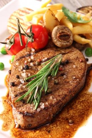 filet: Grilled Beef Steak