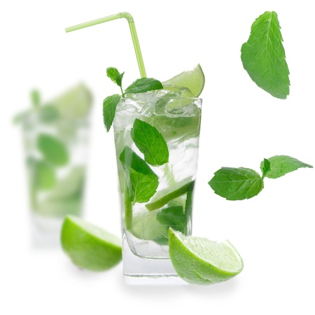 Fresh mojito drinks photo