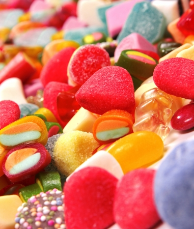 Colorful candy backgrounds  Stock Photo