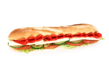 tzaziki: Tasty french baguette