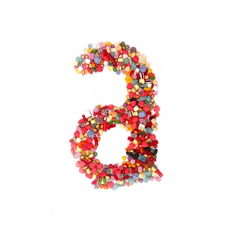 Candy alphabet font Stock Photo - 14864205