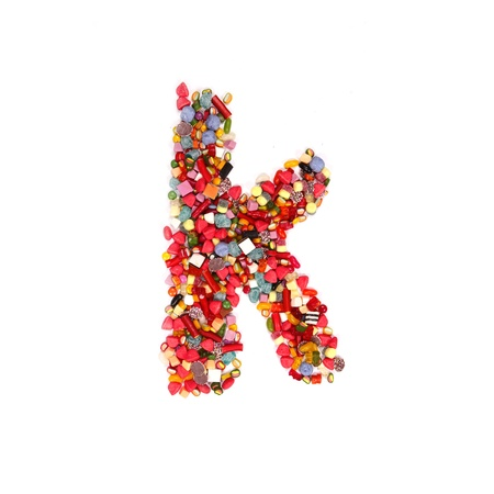 Candy alphabet font Stock Photo - 14864312