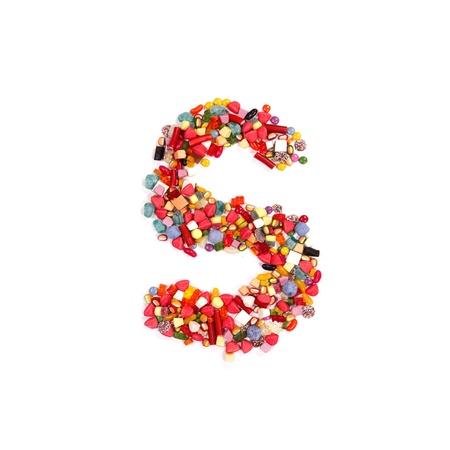 Candy alphabet font Stock Photo - 14864308