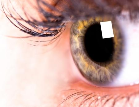 ojos hermosos: Ojo hermoso de la mujer Foto de archivo