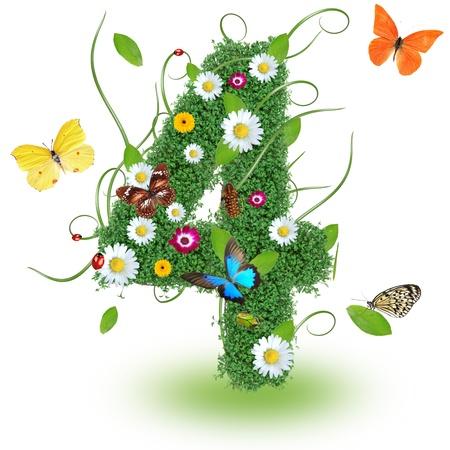 Beautiful spring number  4