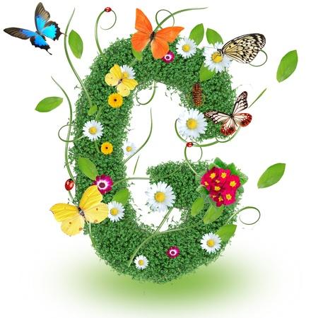 """alphabet animaux: Lettre beau printemps """"G"""" Banque d'images"""