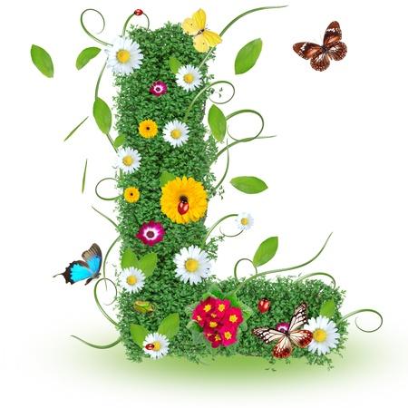 """Beau printemps lettre """"L"""""""