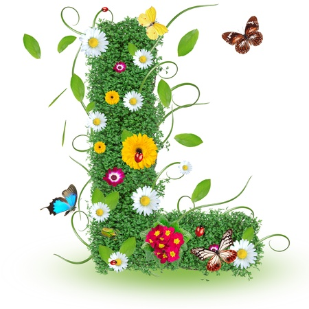 Beautiful spring letter
