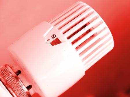 Heating radiator with regulator  photo