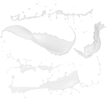 splashing: High resolution Milk splashes collection