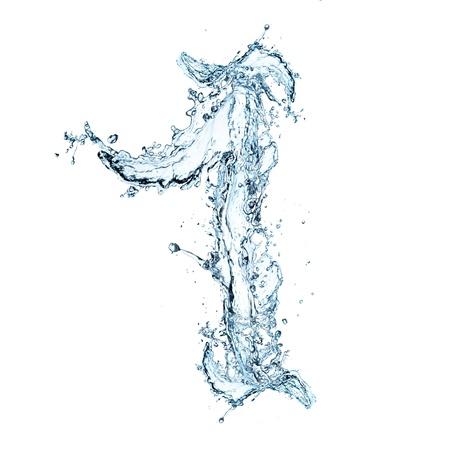 Number of water alphabet  Imagens