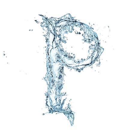 purity: Letter of water alphabet