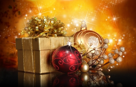 Christmas background Stock Photo - 16308678