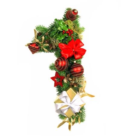 Alfabeto di Natale Numero 1