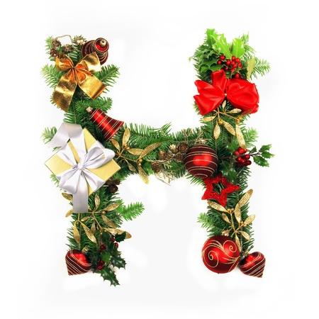 Christmas Alphabet Letter Stock Photo - 16309160