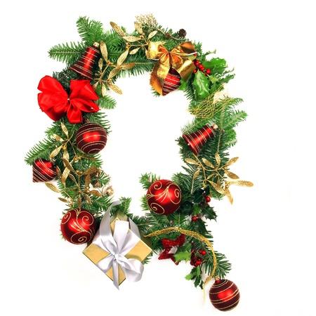 Christmas Alphabet Letter Stock Photo - 16309150