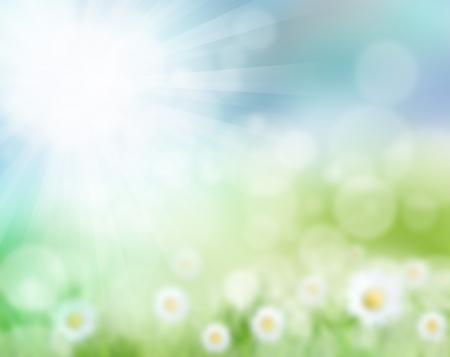 sod: Abstract spring background