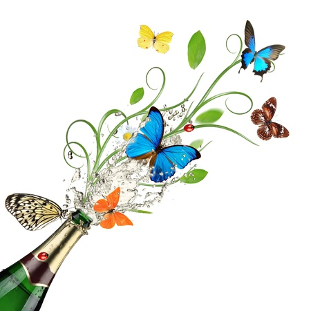 Spring is comming, celebration theme. Stock Photo