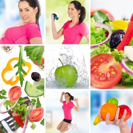 personas saludables: Estilo de vida saludable Foto de archivo