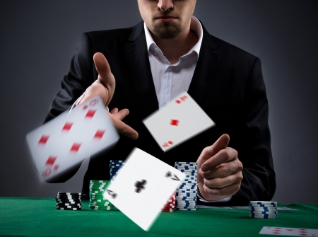 croupier: Portrait of a professional poker player