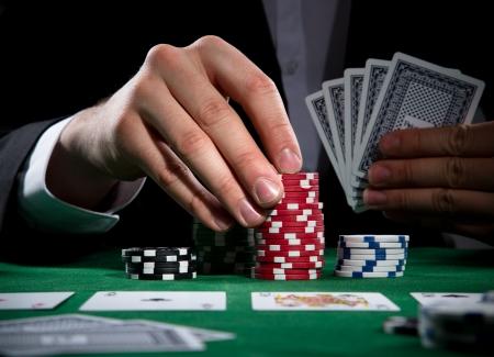 croupier: Poker player