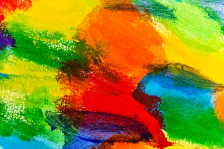 Abstract acrylic hand painted background  photo