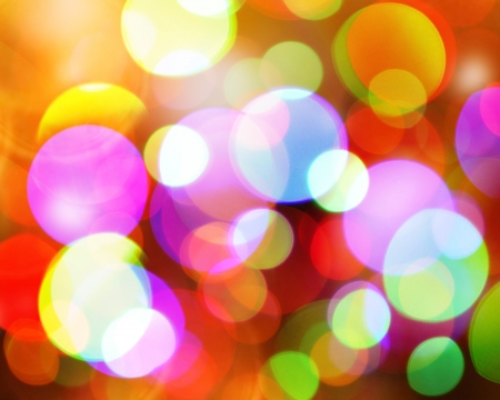 new year background: Abstract christmas blurred background