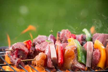 barbecue skewer photo