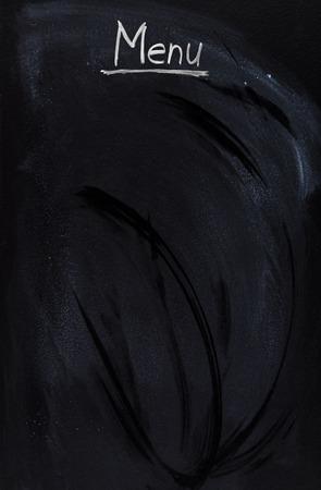 handwrite: Handwrite on blackboard Stock Photo