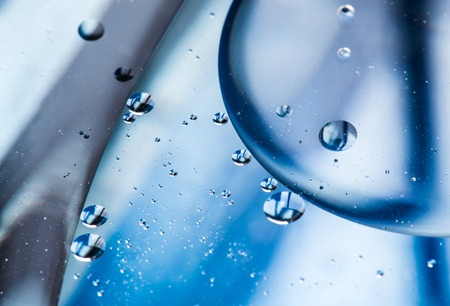 Water bubbles, abstract background.
