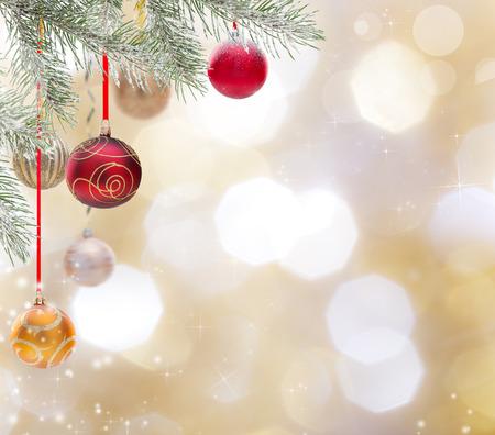추상 크리스마스 배경, 근접입니다.