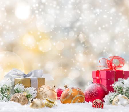 estrellas de navidad: Resumen de antecedentes de Navidad, primer plano.