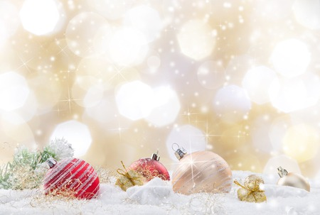 Abstract Christmas background, close-up. photo