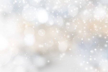 gold decorations: Abstract Christmas background, close-up. Stock Photo