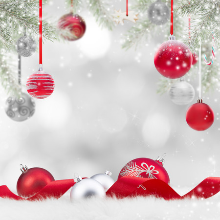 special occasions: Abstract Christmas background, close-up. Stock Photo