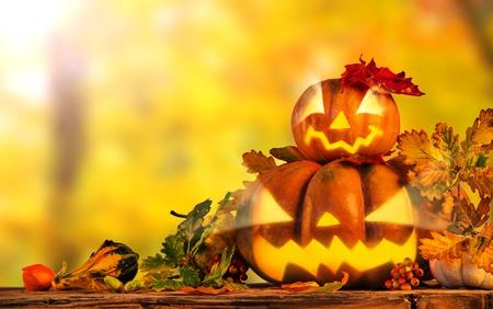 dynia: Scarry dynia halloween tła, zbliżenie. Zdjęcie Seryjne