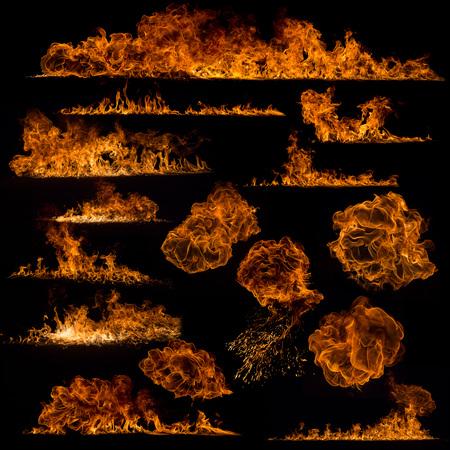 flames: Colección de las llamas de fuego
