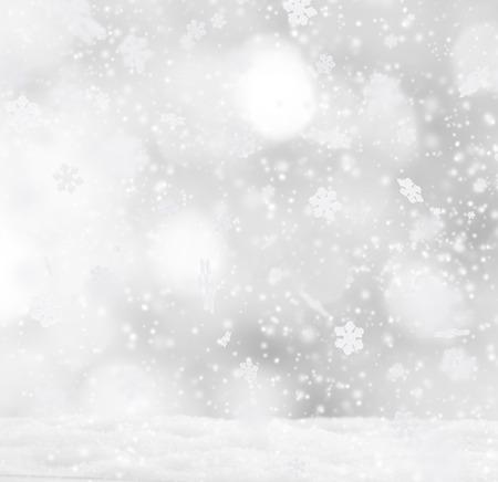 neige qui tombe: R�sum� de fond de No�l avec la chute des flocons de neige