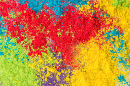 colored powder: Colored powder, abstract background, close-up.