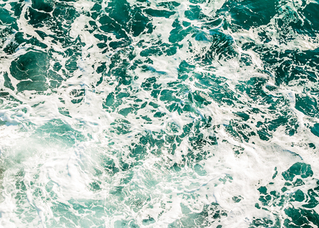 ocean water: Sea blue fresh ocean water, pattern. Stock Photo