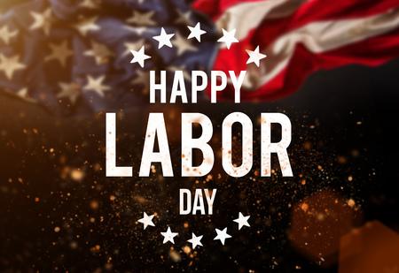Werktagsfahne, patriotischer Hintergrund Standard-Bild - 81559767